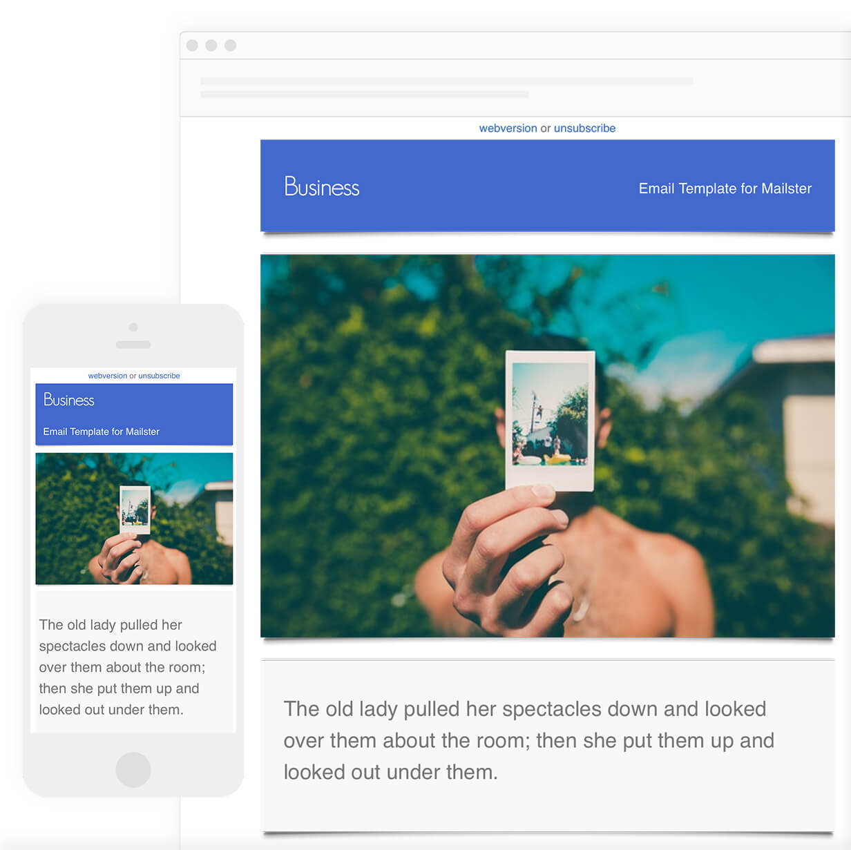 Business - Email Template for Mailster - 6