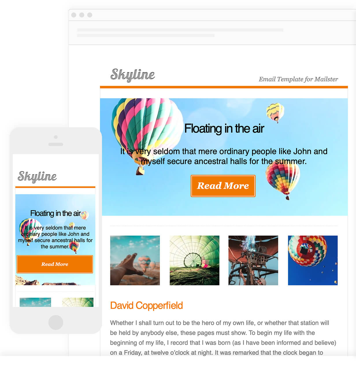 Skyline - Email Template for Mailster - 6